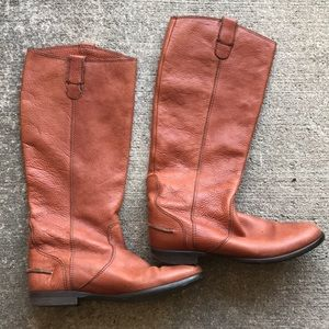 Shoes - Vintage Leather Boots sz 8 made in Italy